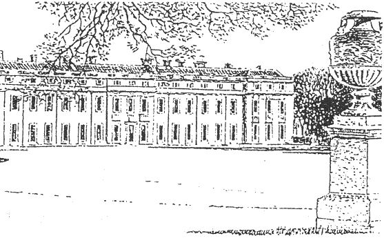 Drawing of Petworth House