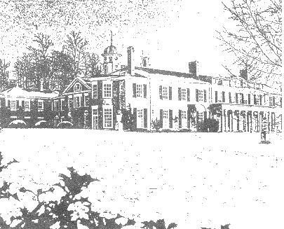 Drawing of Polesden Lacey